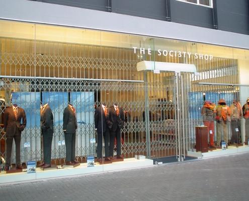 winkelafsluiting met doorzicht